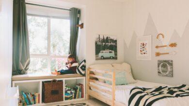 رشد اتاق خواب با کودک